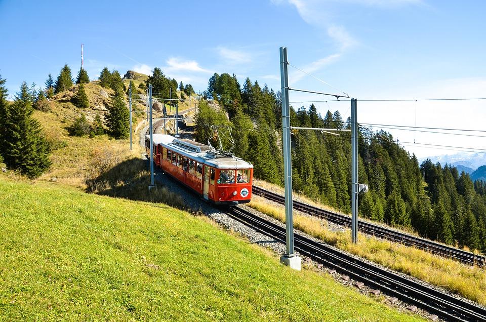Rigi, Alm, Alp, Vitznau-rigi Railway, Rack Railway