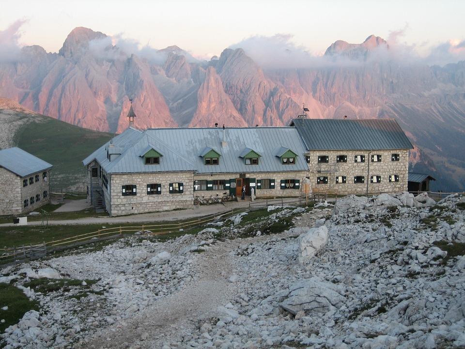 Schlern, Dolomites, South Tyrol, Hut, Alm
