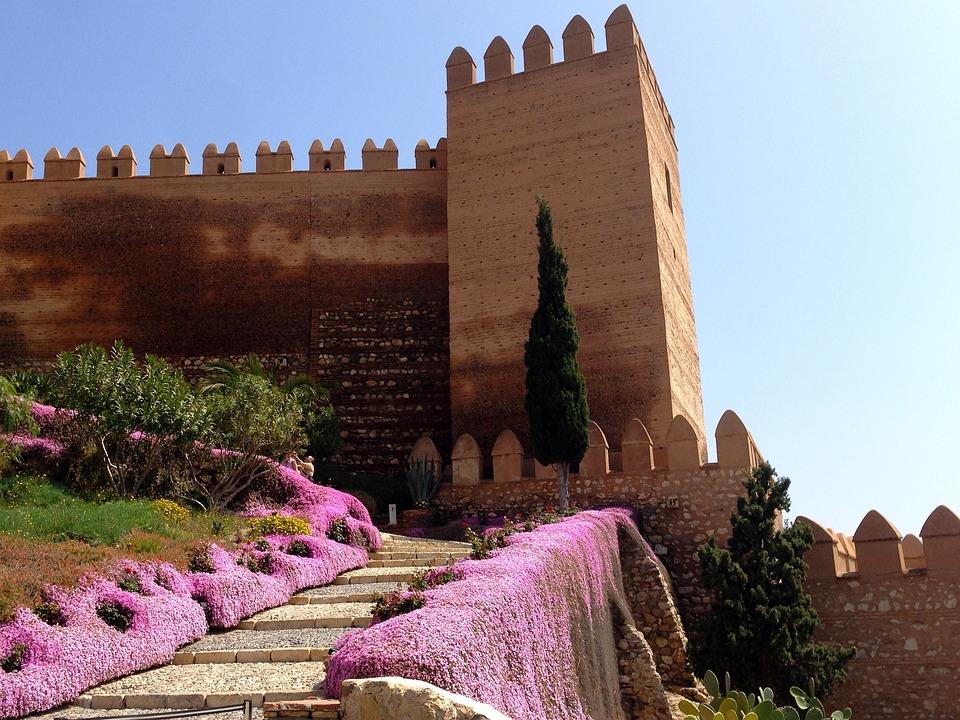 Castle, Fortress, Spain, Almeria