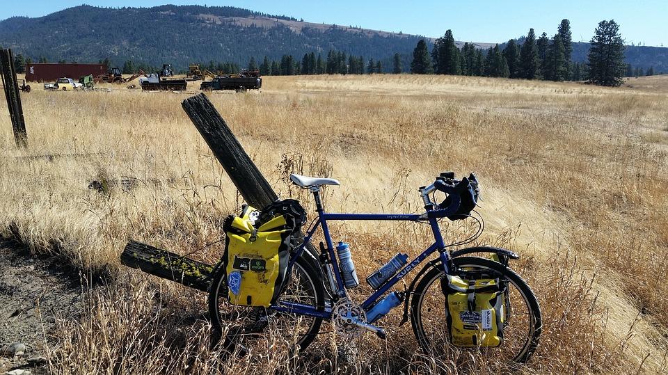Bike, Travel, Adventure, Alone, Bike Tour, Idyllic