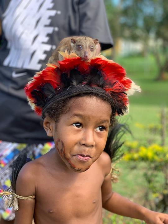 Papua New Guinea, Alotau, Child, Beautiful