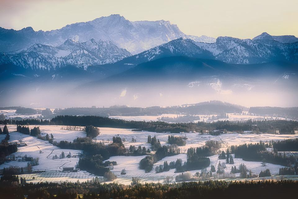 Alpine, Mountains, Panorama, Alpenblick, Landscape