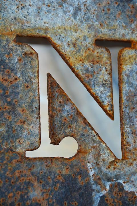 Letter N, N, Alphabet, Letter, Abc, Collection, Shape