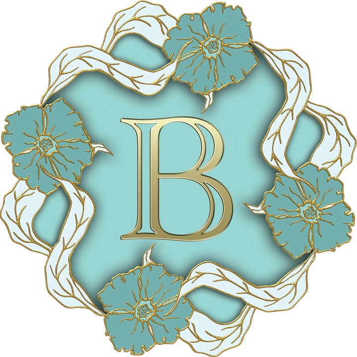 Alphabet, Letter, Initial, Monogram, Background