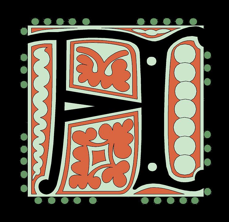A, Alphabet, Vintage, Letter, Old, Antique, Calligraphy