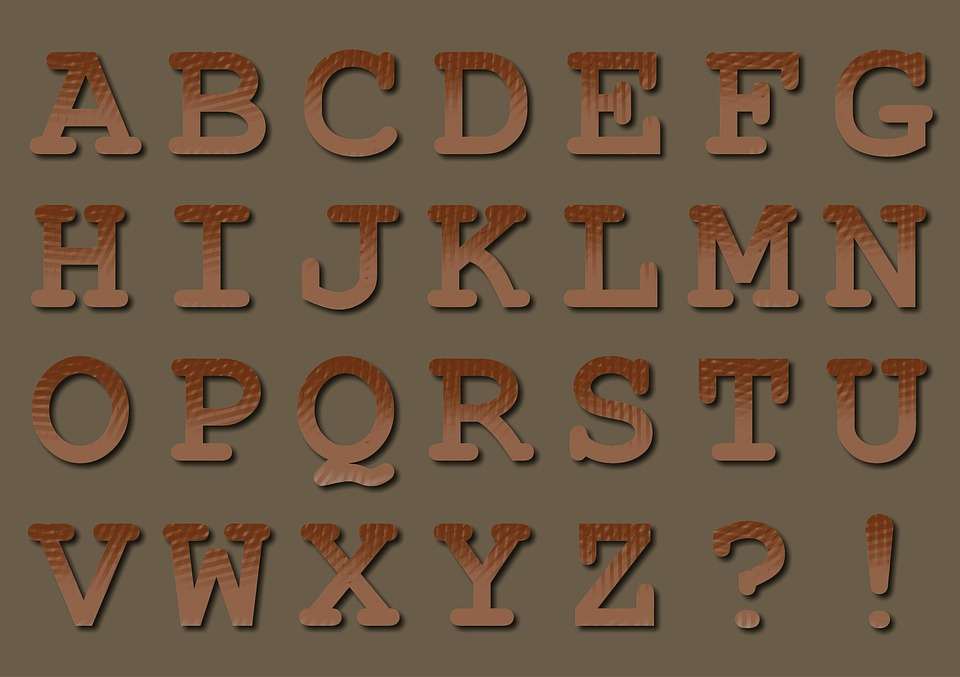 Text, Type, Font, Typography, Typographic, Alphabet