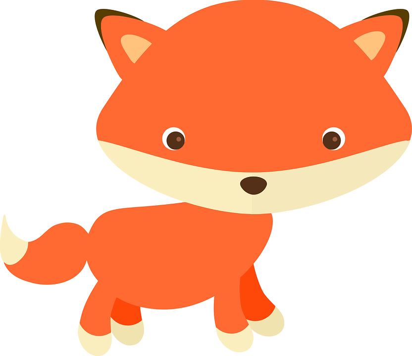 Adorable, Adorable Fox, Alphabet Word Images, Animals