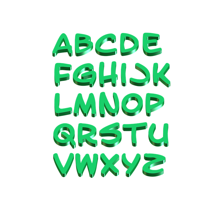 Alphabet, Letters, Learn, Write, Alphabetically, Read