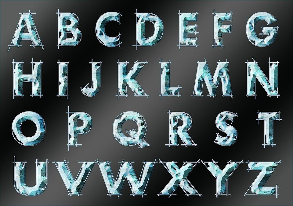 Alphabet, Letters, Learn, Write, Alphabetically, Read