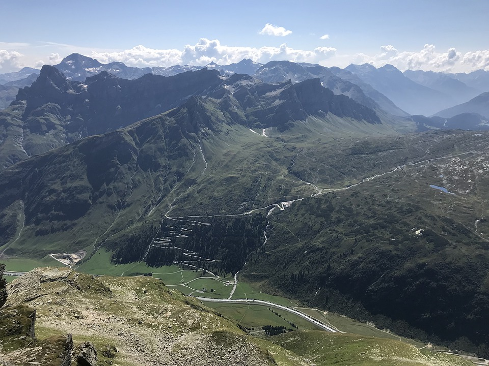 Bernhardinpass, Alpine Route, Alps, Alpine, Adventure