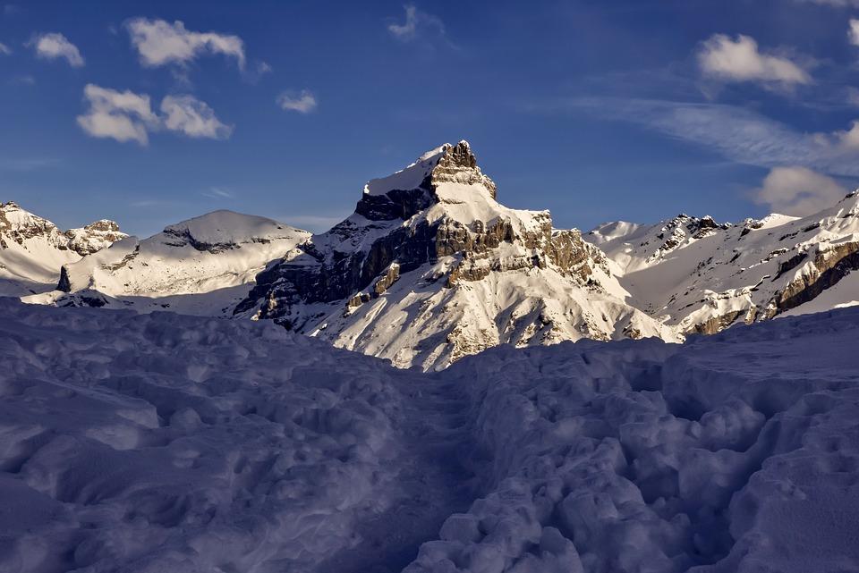 Snow, Mountains, Winter, Hoarfrost, Alps, Alpine