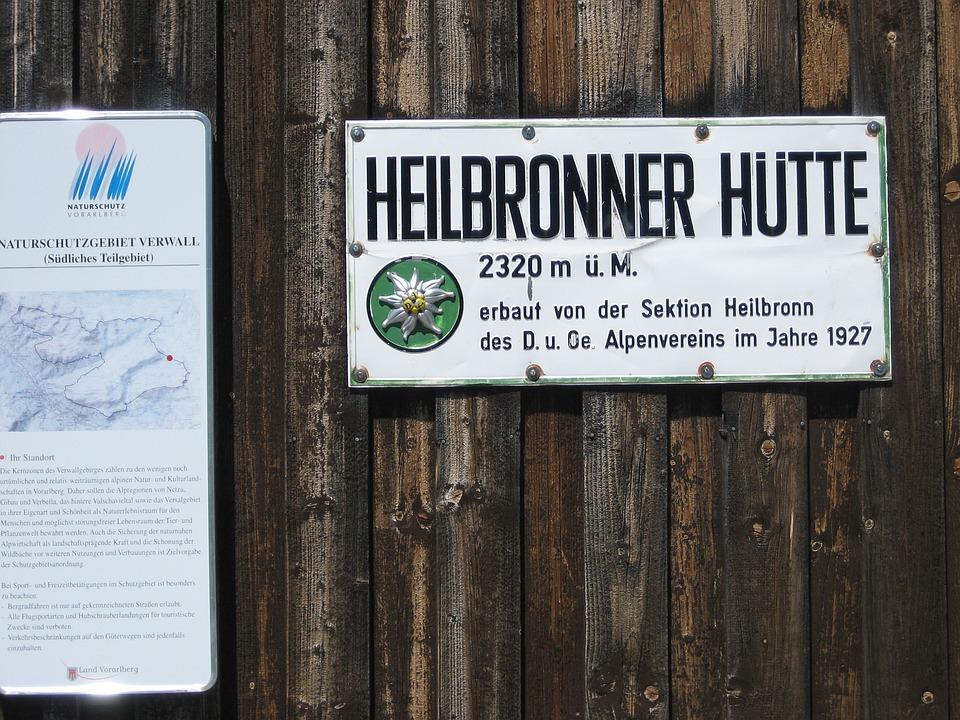 Heilbronner Hut, Alpine Club, Dav, Hut, Alpine, Austria