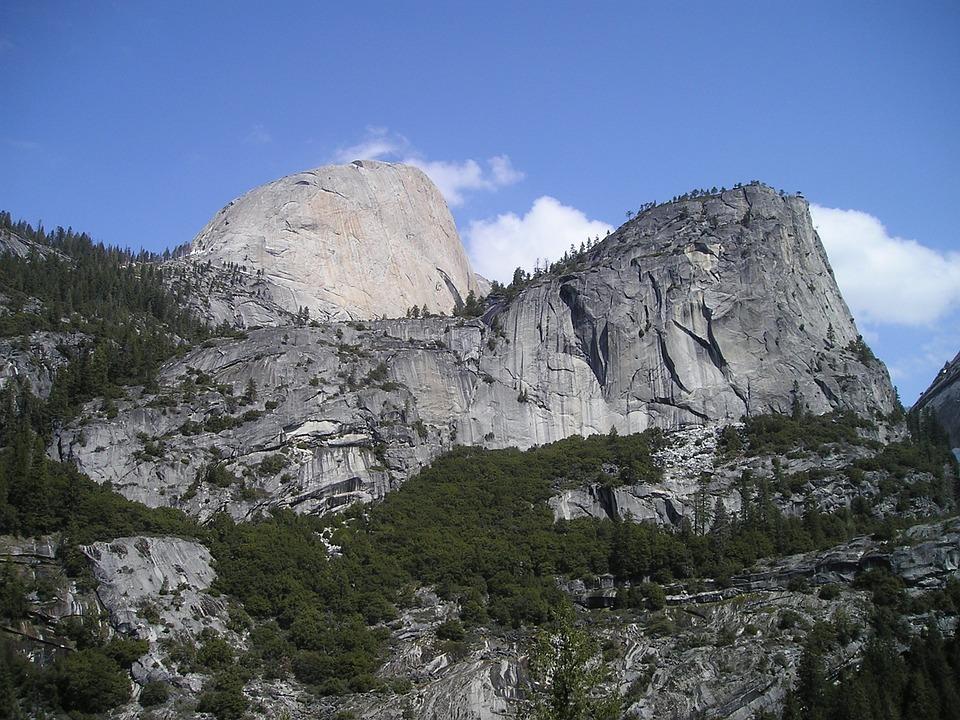 Usa, Yosemite, National Park, Hald, Dome, Climb, Alpine