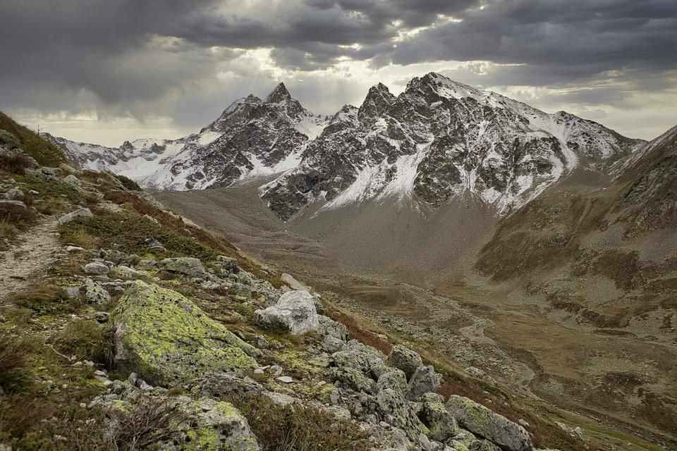 Alpine, Mountains, Hiking