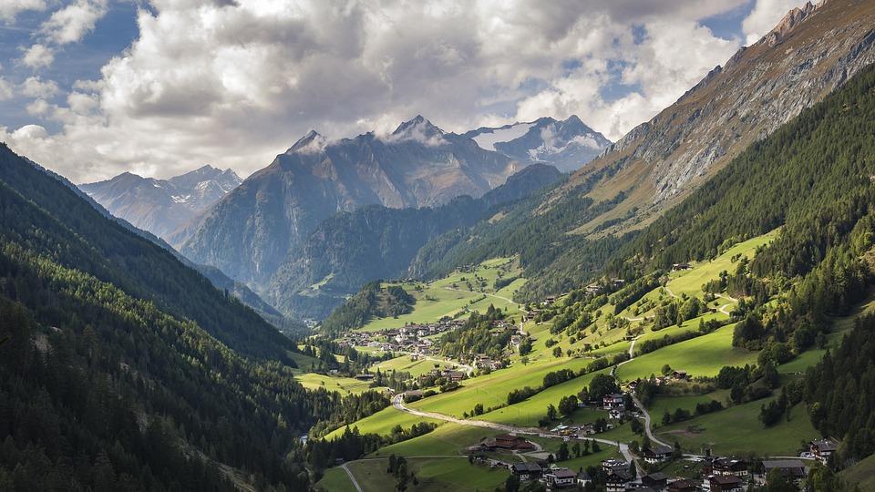 Alpine, Village, Hiking, Praegraten, Tyrol, Mountains
