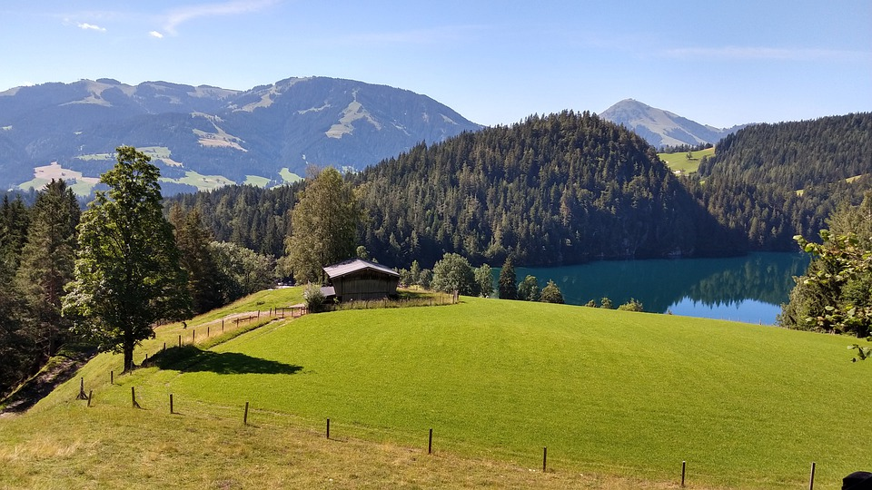 Hintersteiner Lake, Alpine, Austria, Landscape, Nature