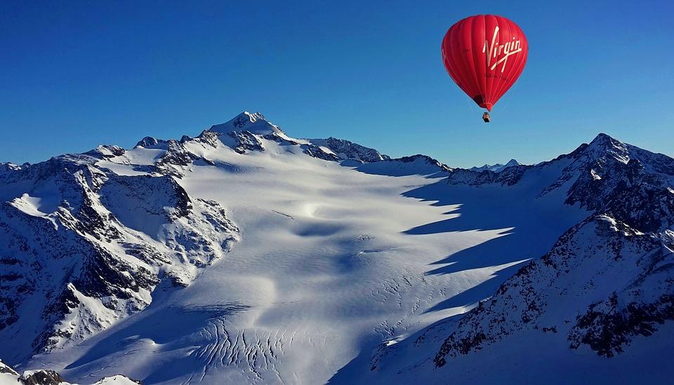 Hot Air Balloon, Hot Air Balloon Ride, Alpine