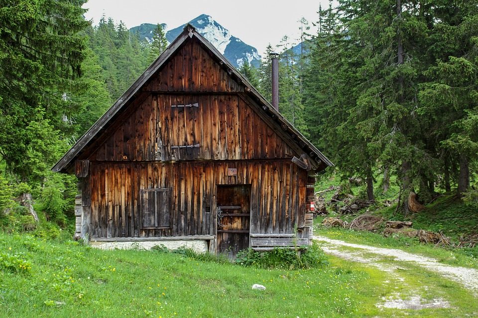 Nature, Alm, Austria, Hut, Alpine Hut