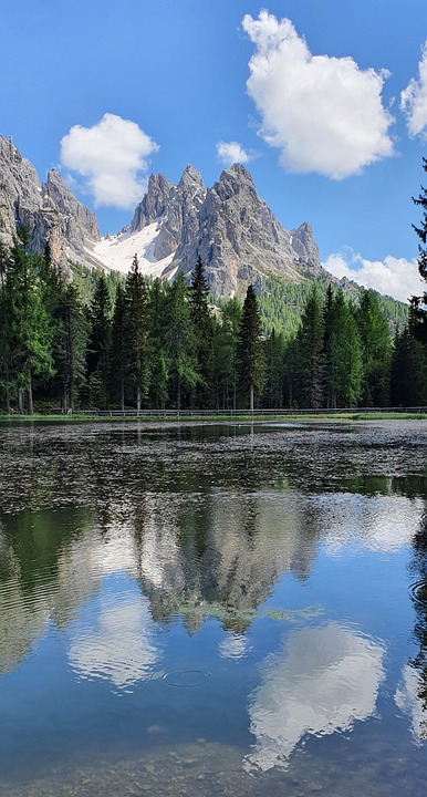 Lake, Mountains, Countryside, Nature, Scenery, Alpine