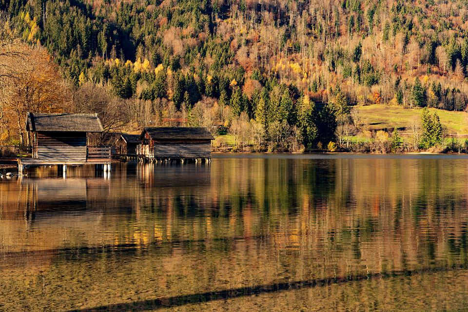 Schliersee, Lake, Bavaria, Alpine, Boat House