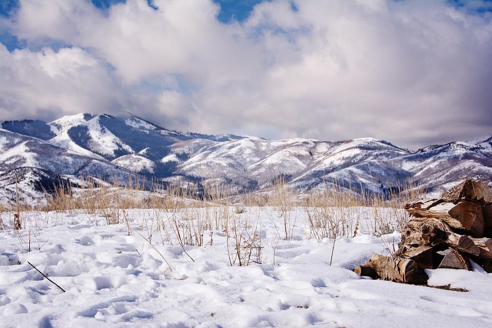 Snow, Mountains, Utah, Landscape, Scenic, Alpine