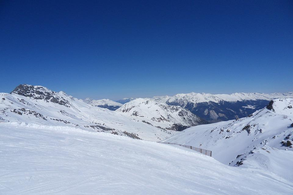 Ski Run, Winter, Snow, Landscape, Mountains, Alpine