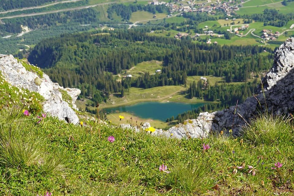 Bergsee, Mountain Landscape, Lag Da Laus, Alpine