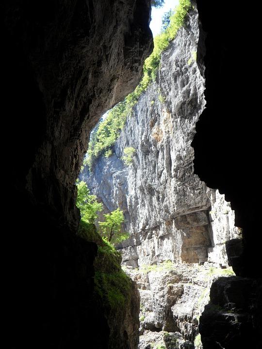Gorge, Opening, Rock, Breitachklamm, Mountains, Alpine