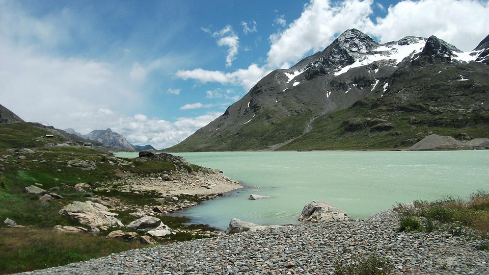 Bergsee, Alpine, Mountains, Lake, Mountain Landscape
