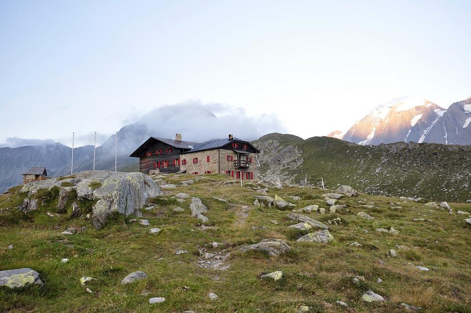 Alpine, Dolomites, Mountain Hut, Mountains, Nature