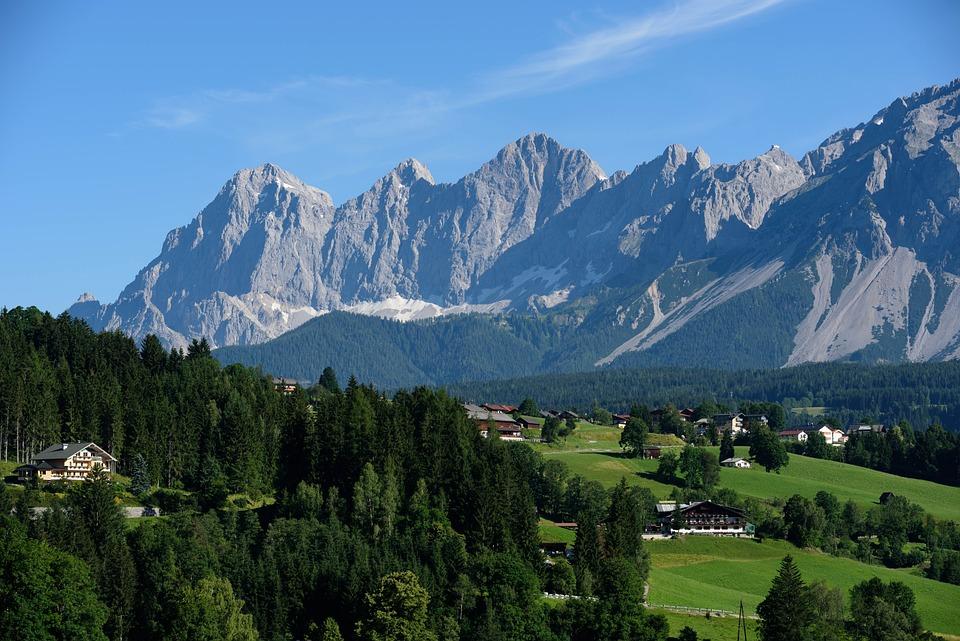 Alpine, Mountains, Rock, Imposing, Landscape, Nature