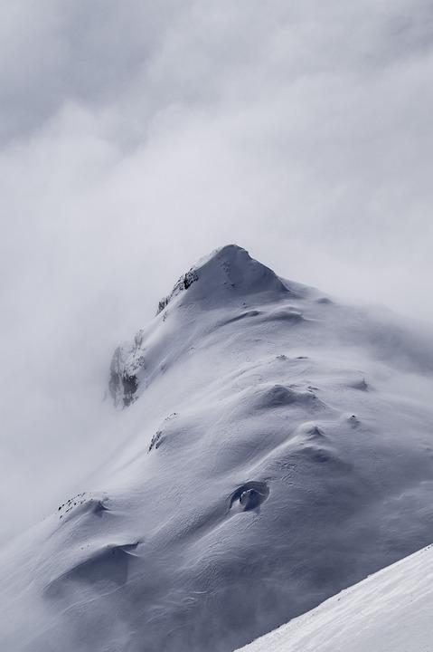 Mountain, Snow, Switzerland, Winter, Alpine, Nature