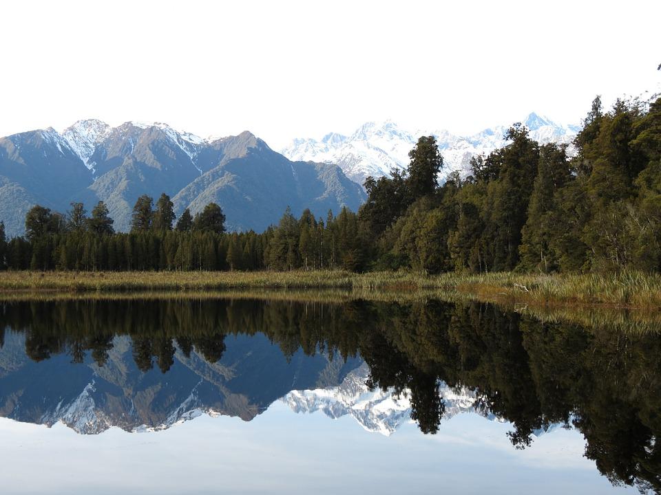 Mount Cook, New Zealand, Mountain, Alpine, Lake, Snow