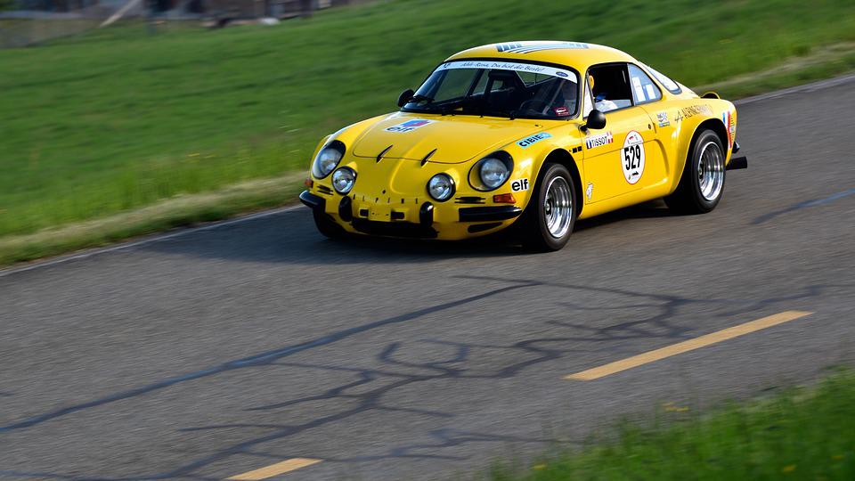 Gp Mutschellen 2018, Alpine Renault A110 Sc, Racing Car