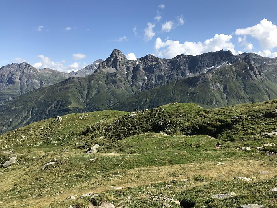 Piz De Cressim, Lace Straw, Alpine Route, Alps, Alpine