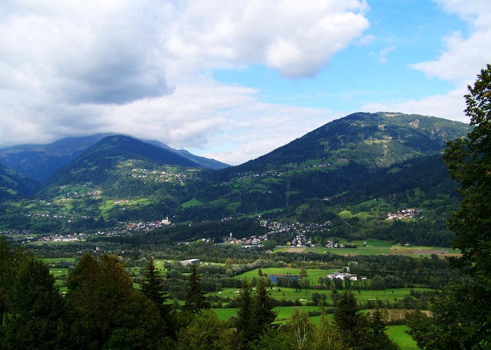 Alpine Scenery, Landscape, Mountains, Nature, Vista