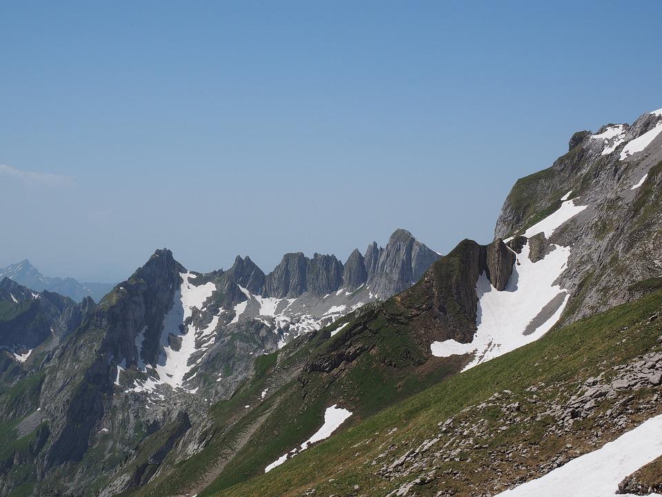Silver Plates, Mountain, Alpine, Alpstein Region