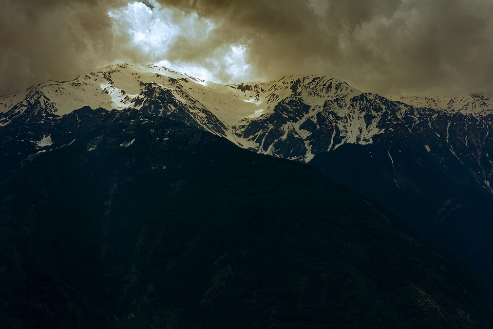 Mountains, South Tyrol, Alpine, Italy, Landscape