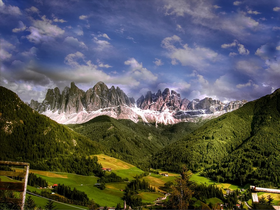 Dolomites, Mountains, Italy, South Tyrol, Alpine, View