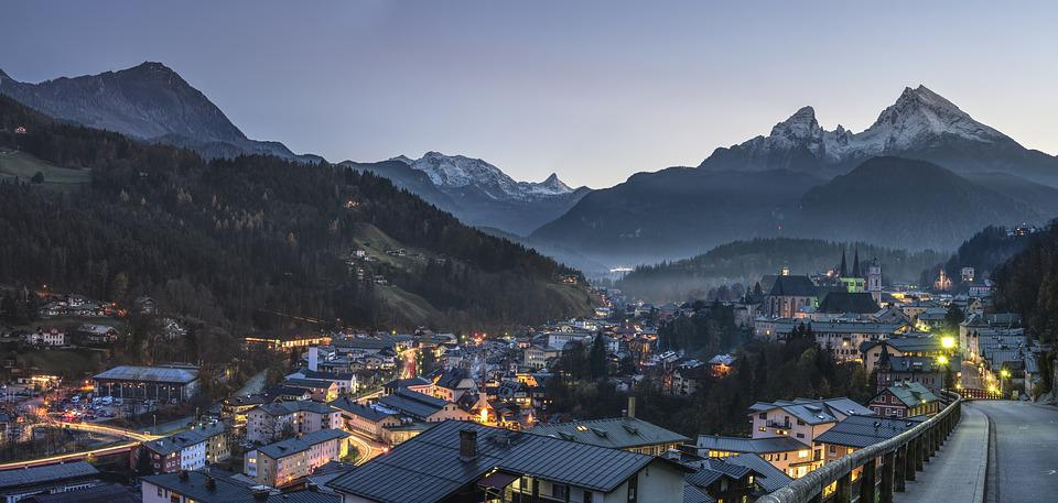 Berchtesgaden, Alpine, Watzmann