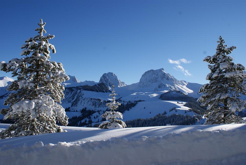 Gantrisch, Mountains, Alpine, Wintry, Switzerland