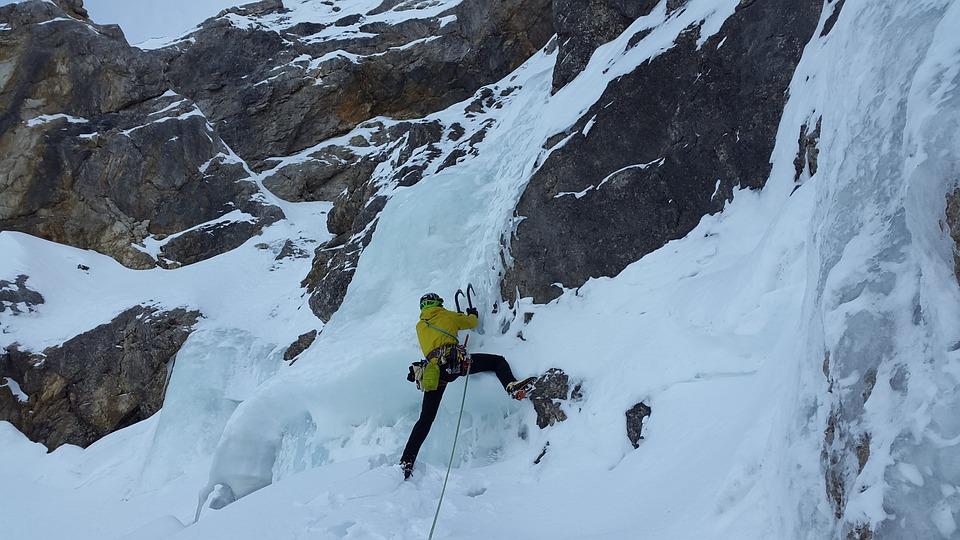 Ice Climbing, Alpinism, North Wall, Icefall