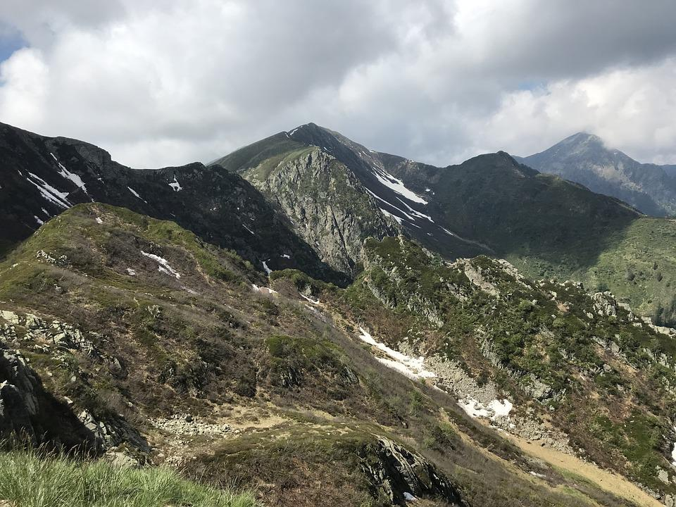 Panorama From The Top Of The Tomato, Alpine Route, Alps
