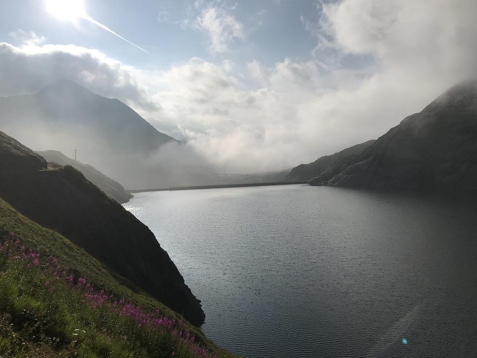 Lake Of Lucendro, Alpine Route, Alps, Alpine, Adventure