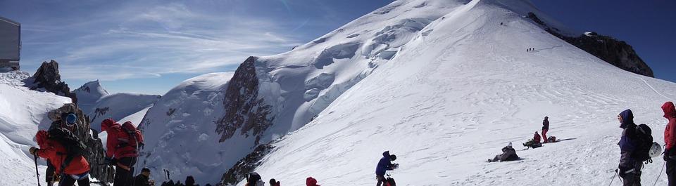 Vallot Shelter, Mont Blanc, Altitude, Ski, Skiing, Alps
