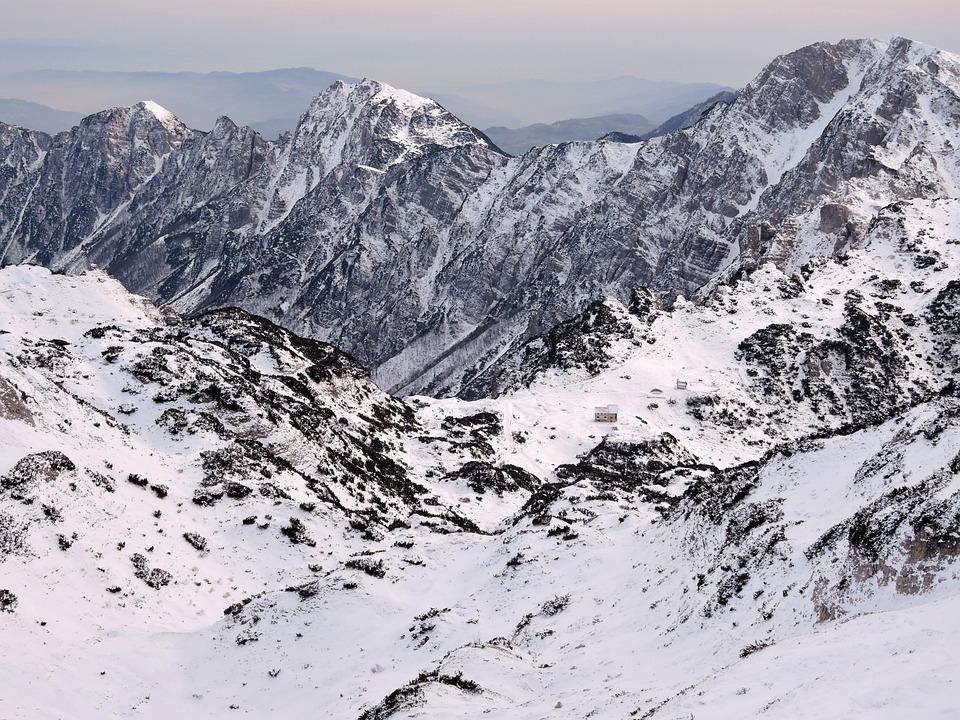 Scalorbi, Mountains, Refuge, Snow, Alps, Carega