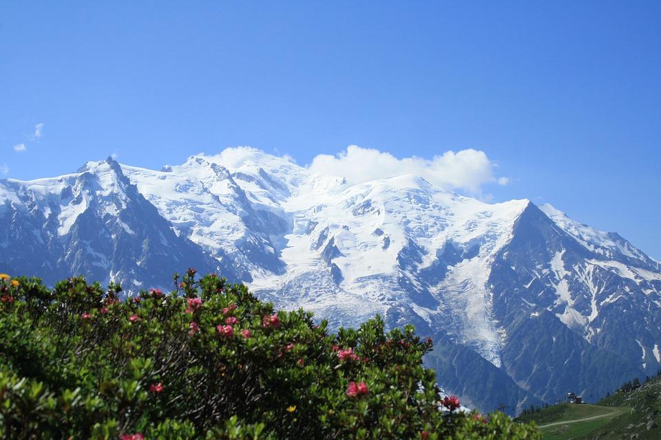 Mountain, Chamonix, Landscape, Snow, Alps, Hiking