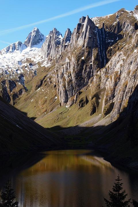 Switzerland, Alps, Mountains, Nature, Rock, Lake