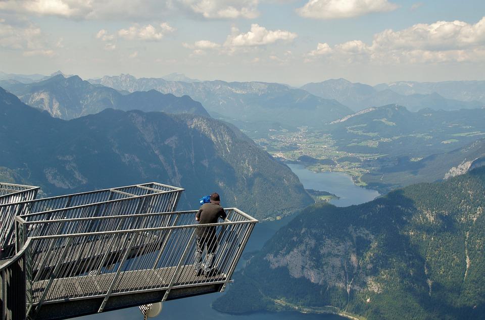 Dachstein, Austria, Alps, View, Five Fingers, Alpine