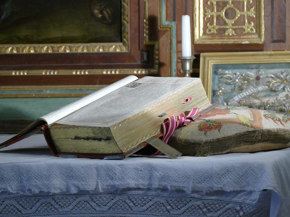 Missal, Altar, Church, Religion, Christian